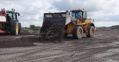shovel met GPS huren Volvo L70F (2100 liter) huren